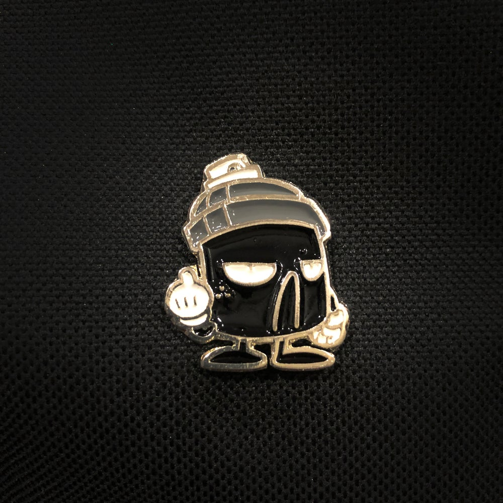 Image of POCKET ENAMEL PIN