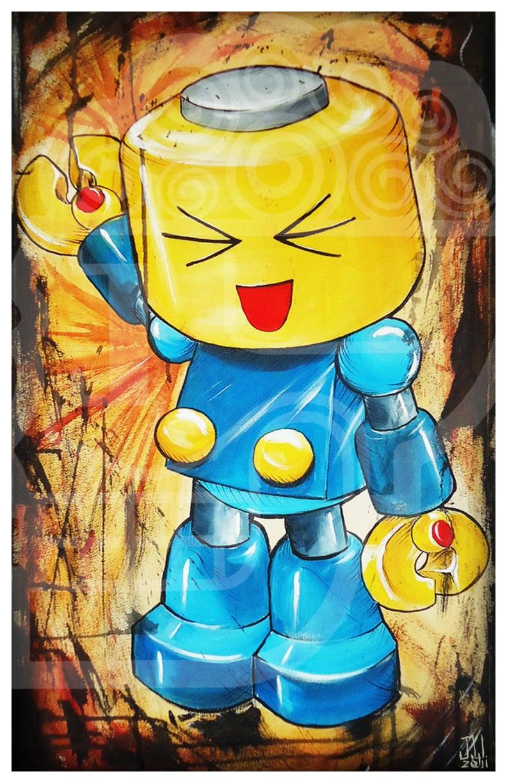Image of JEREMY WORST Servbot Marvel Vs Capcom