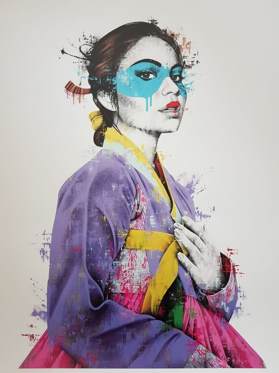 "Image of FINDAC - ""JIBO"" - 24 COLOUR SCREENPRINT - LTD ED 150 - 88CM X 62CM"