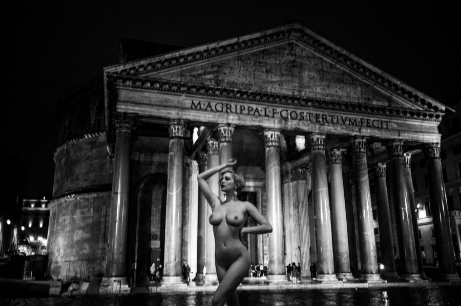 Image of Il Pantheon a Mezzanotte - SKYE  [PAN001-015]