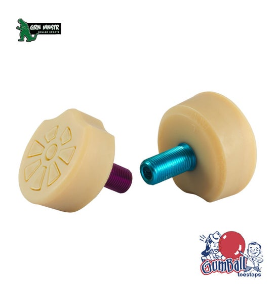 Image of Gumball Superball Toe Stops (Pair)