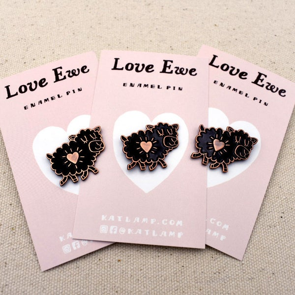 Image of Love Ewe Pin