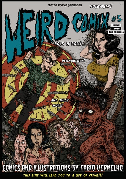 Image of Weird Comix #5 [2nd printing]