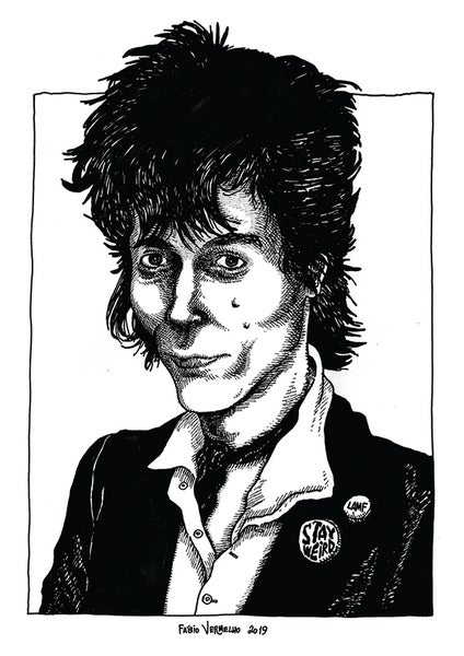 "Image of ""Johnny Thunders"" Art Print"