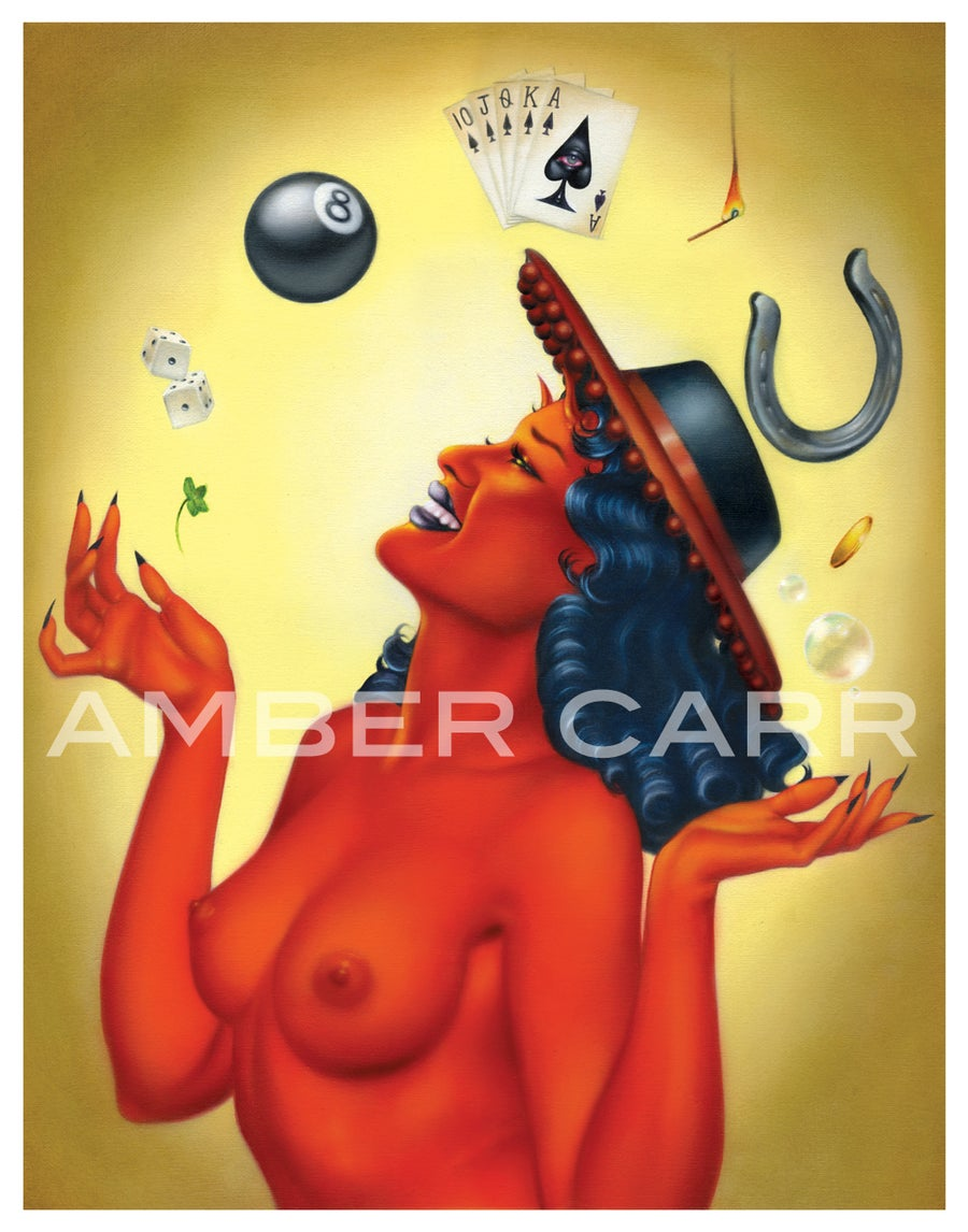 """Image of Devil's Luck 11"""" x 14"""" Poster Print"""