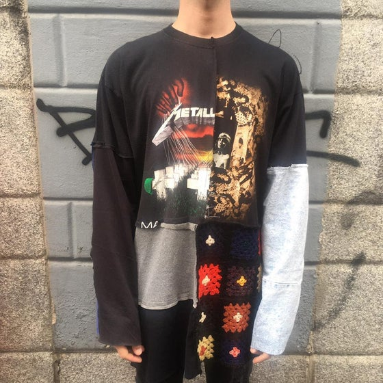 Image of PATCHWORK REWORKED LONGSLEEVE #2
