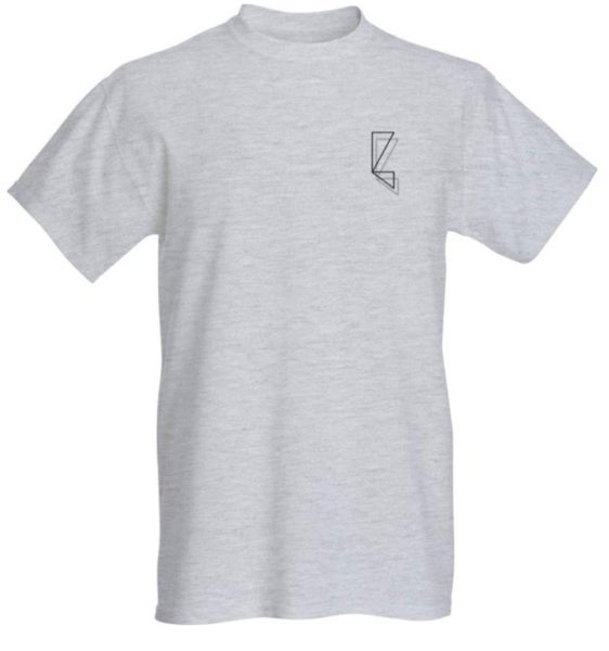 Image of Small 'B' Logo T (Grey)