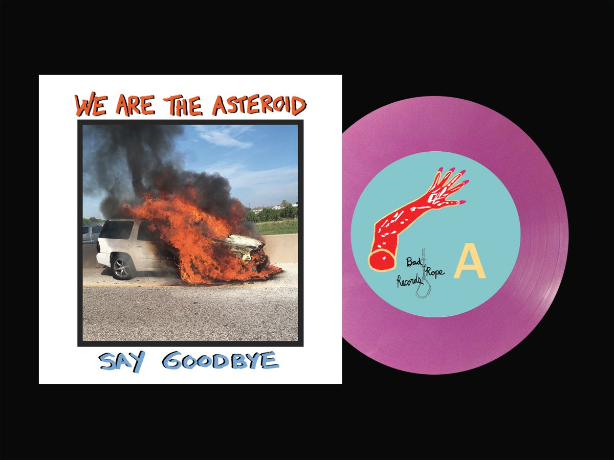 "Image of Say Goodbye 7"" EP"