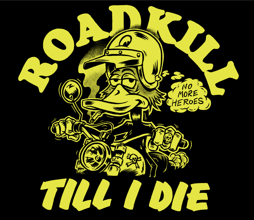"Image of ""RoADkiLL for Life"" teeshirt"