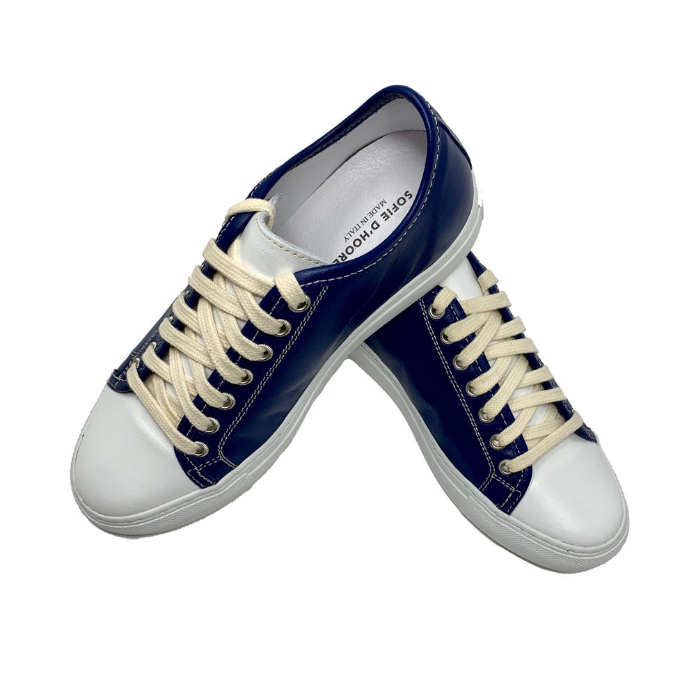 Image of Sofie D'Hoore Sneakers - Navy