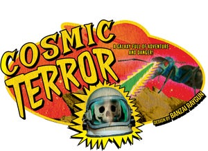 Image of Cosmic Terror Oval