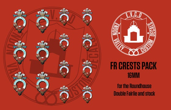 Image of Ffestiniog Crest Pack (includes Crests for Roundhouse Double Fairlie)