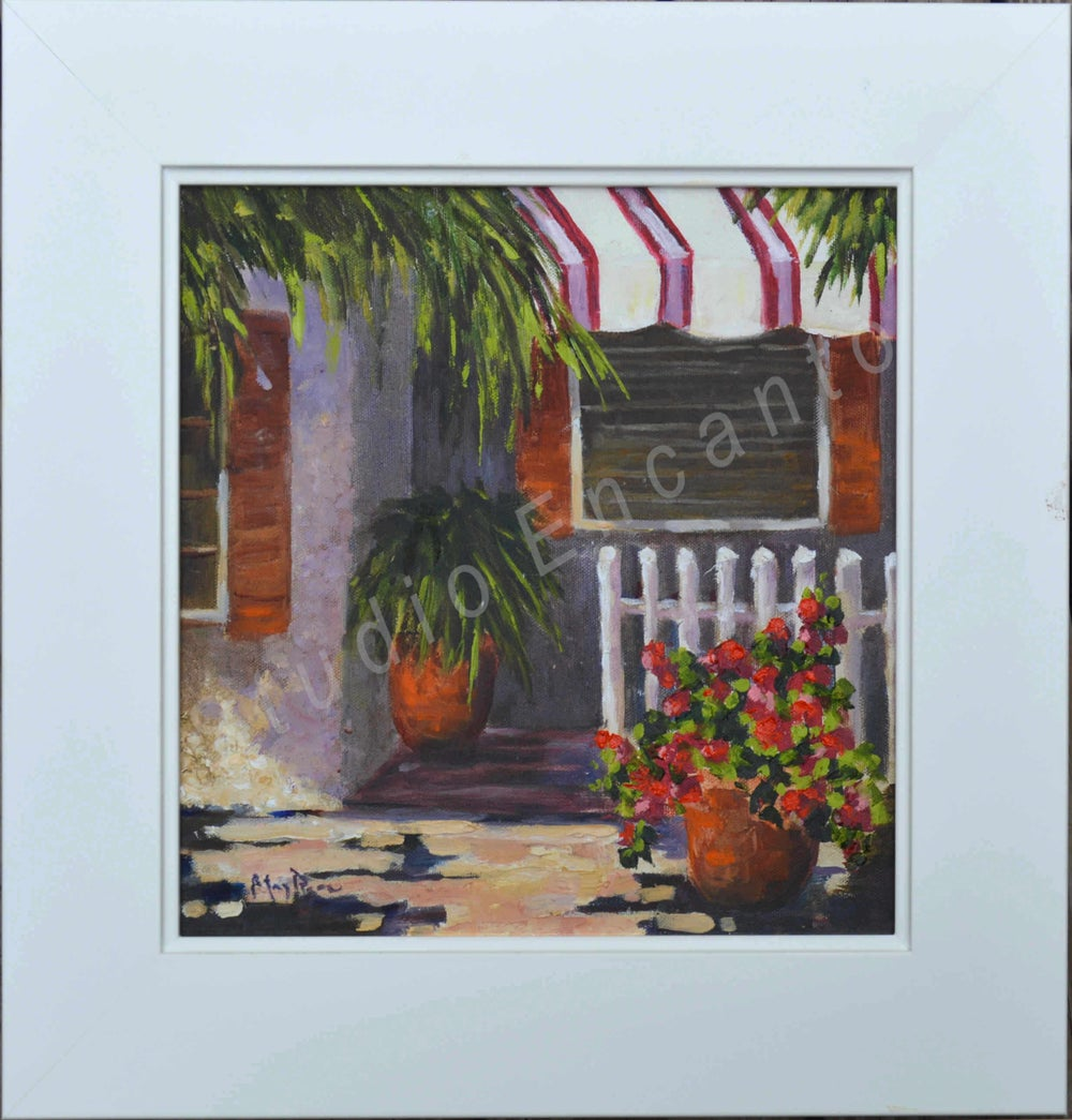 Image of Beach Side Home by Mary Rose Holmes