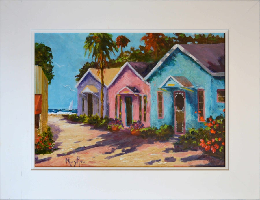 Image of Seaside Cottages by Mary Rose Holmes