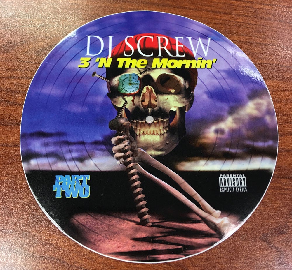 Image of DJ SCREW STICKERS