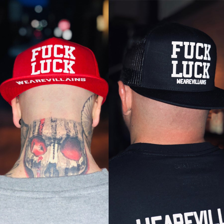 Image of FUCK LUCK SnapBack hat