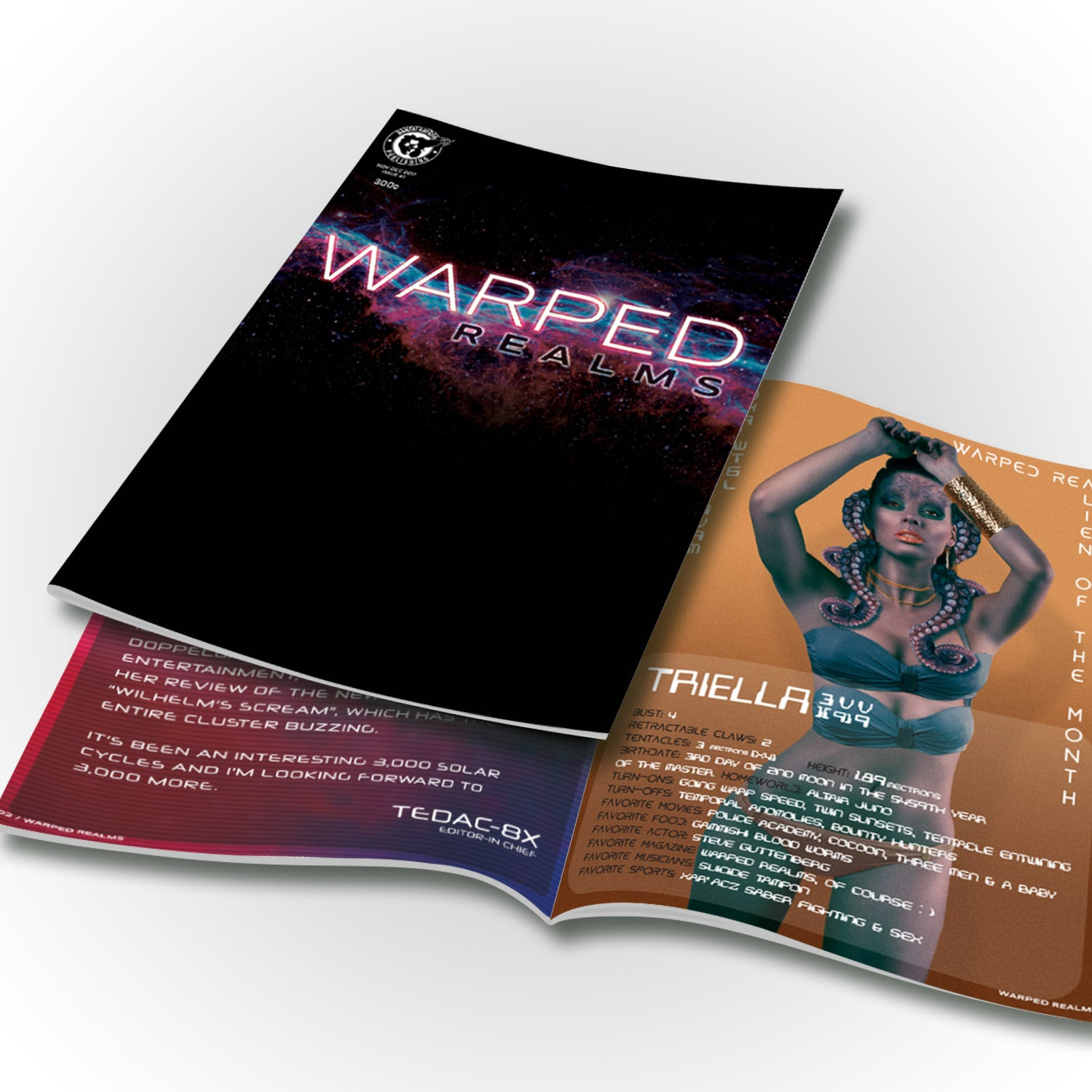 Image of Warped Realms Issue #1