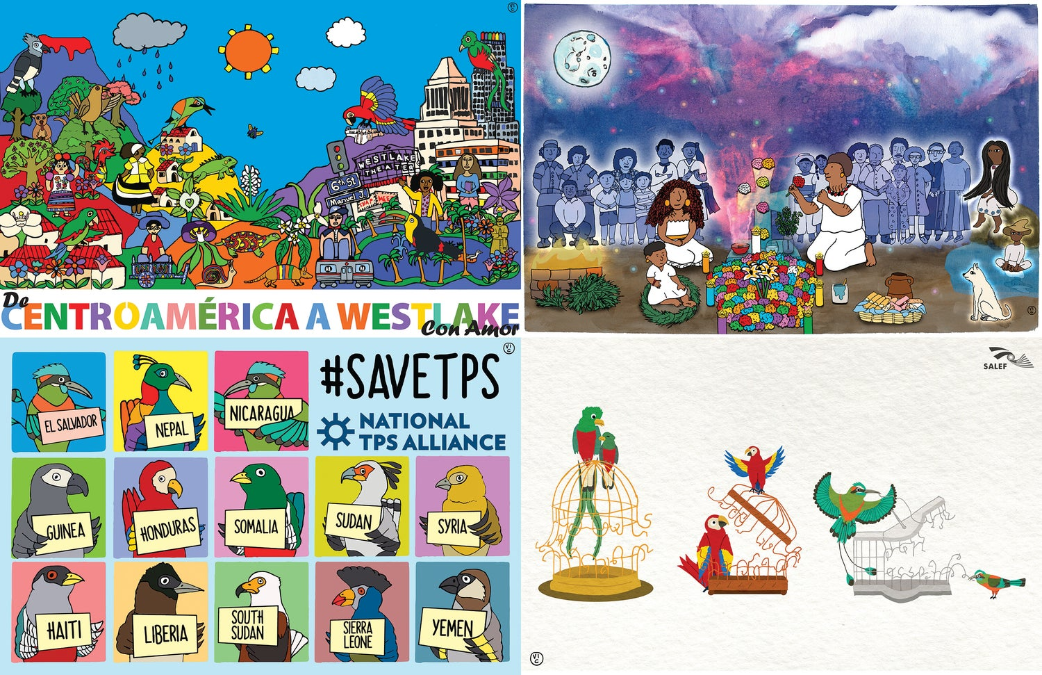 Image of Popular Central American Posters
