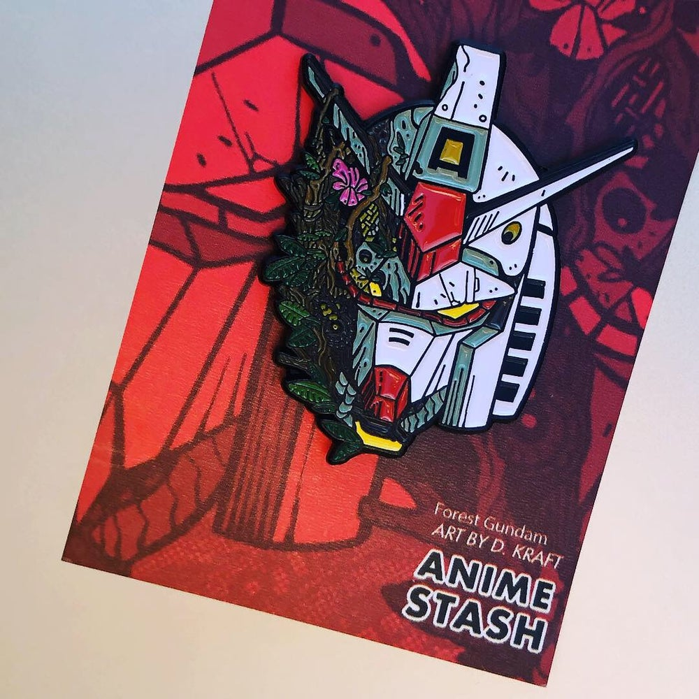 Image of Forest Gundam | Soft Enamel Pin