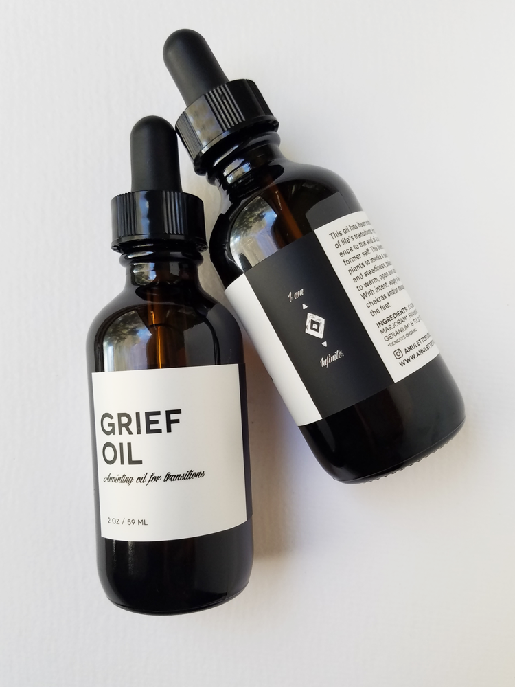 GRIEF OIL - Anointing Oil for Transitions