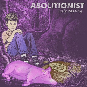 Image of DKR022 - Abolitionist - Ugly Feeling LP PURPLE Vinyl