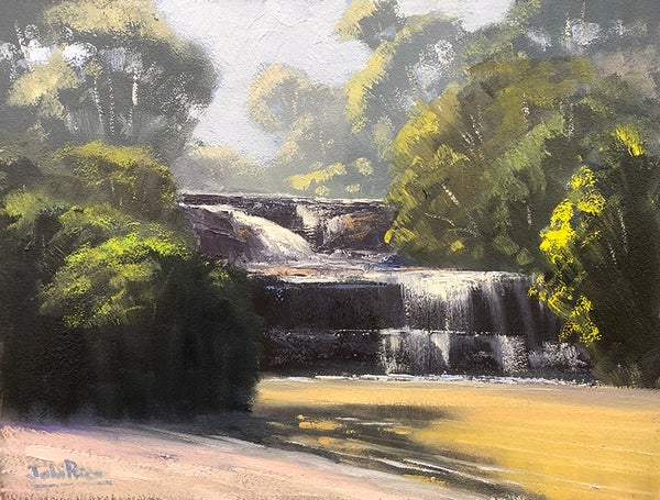 Image of The Top Of The Falls (Wentworth Falls)