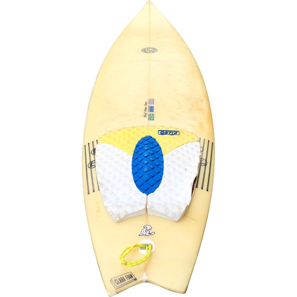 Image of Sea Bound trad hand painted surfboard