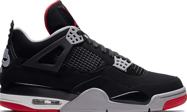 "Image of Nike Retro Air Jordan 4 ""Bred"""