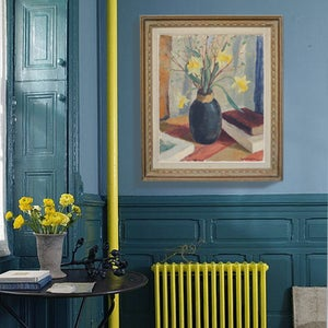 Image of 1938 'Daffodils and Pussy Willow', G. Larsson