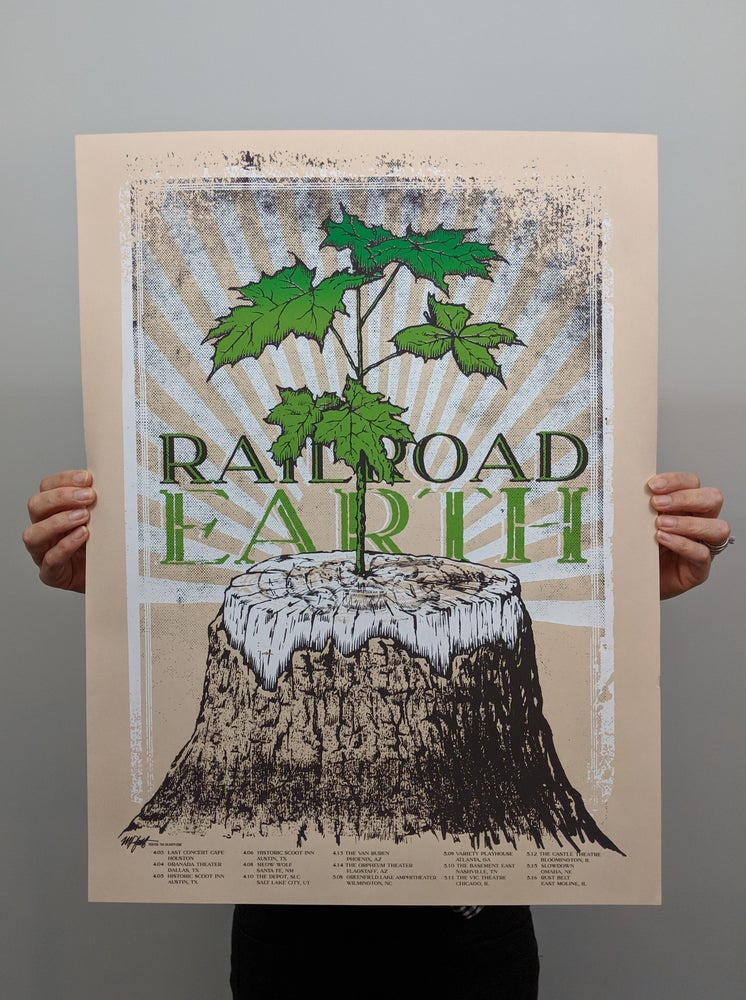 Image of Railroad Earth Tour Poster, 2019