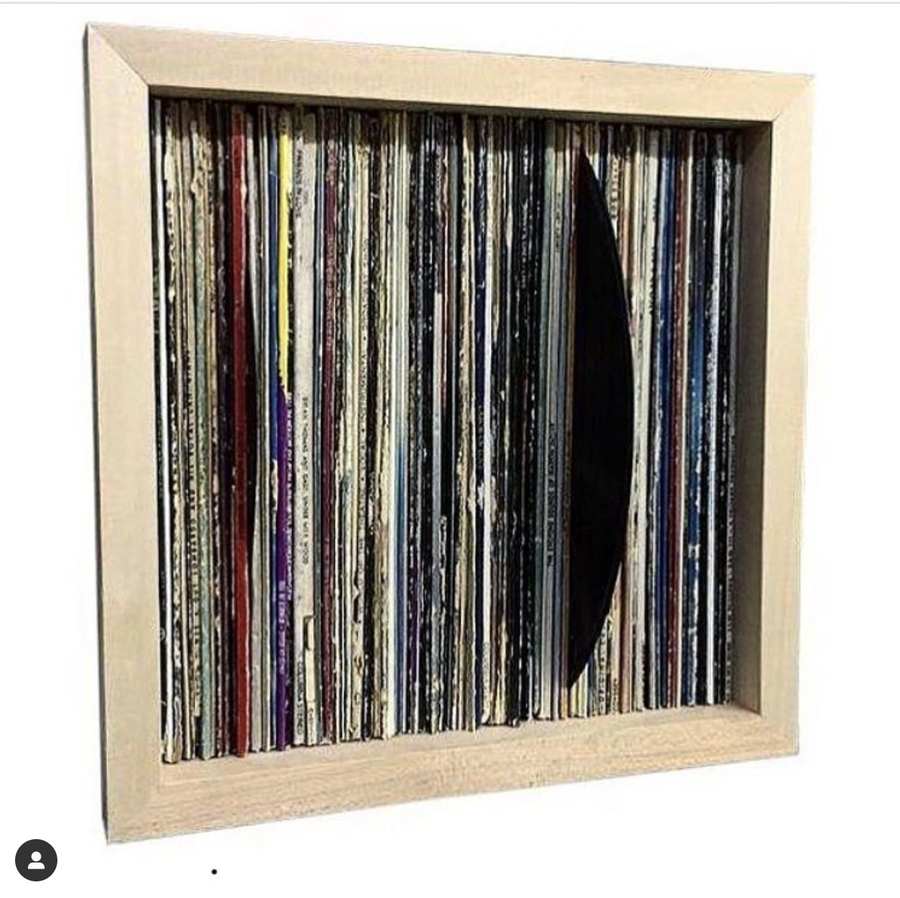 Image of Record Spine Wall Art