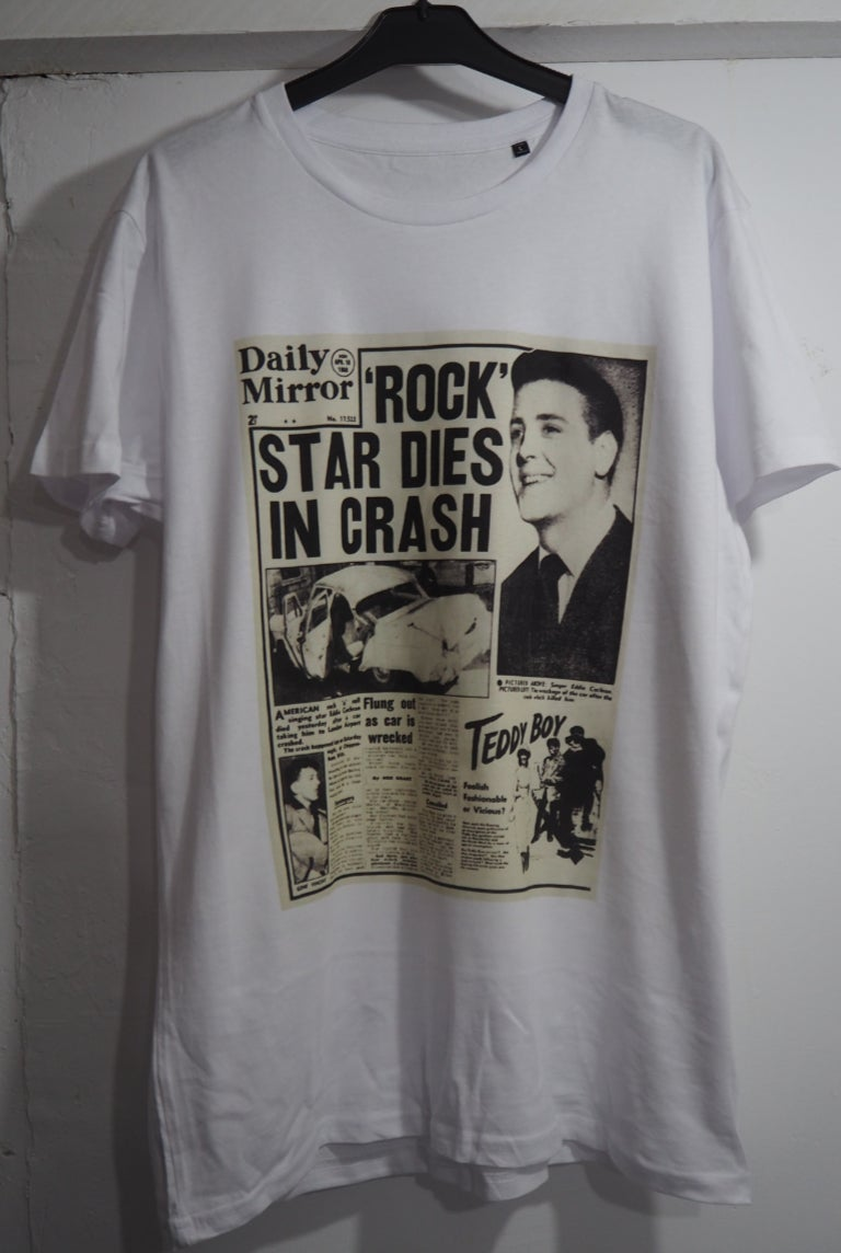 Image of Rock Star Dies In A Crash - Vintage Collection