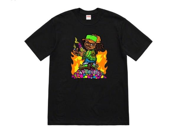 663a028d124 Image of Supreme Molotov Kid Tee size L