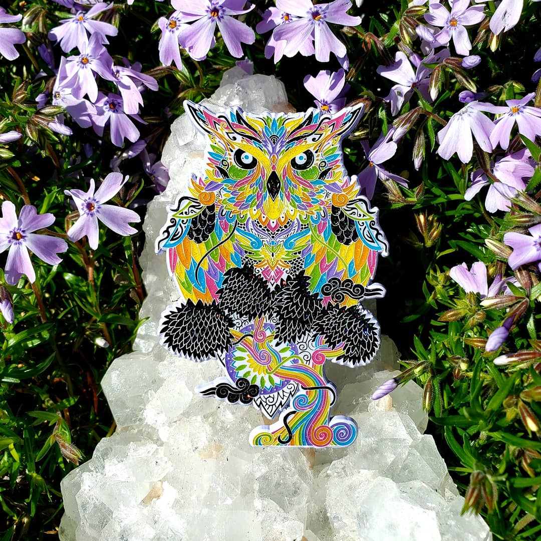 Image of White Candy Woodland Protector