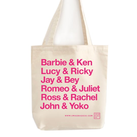 Image of Famous Couples Tote