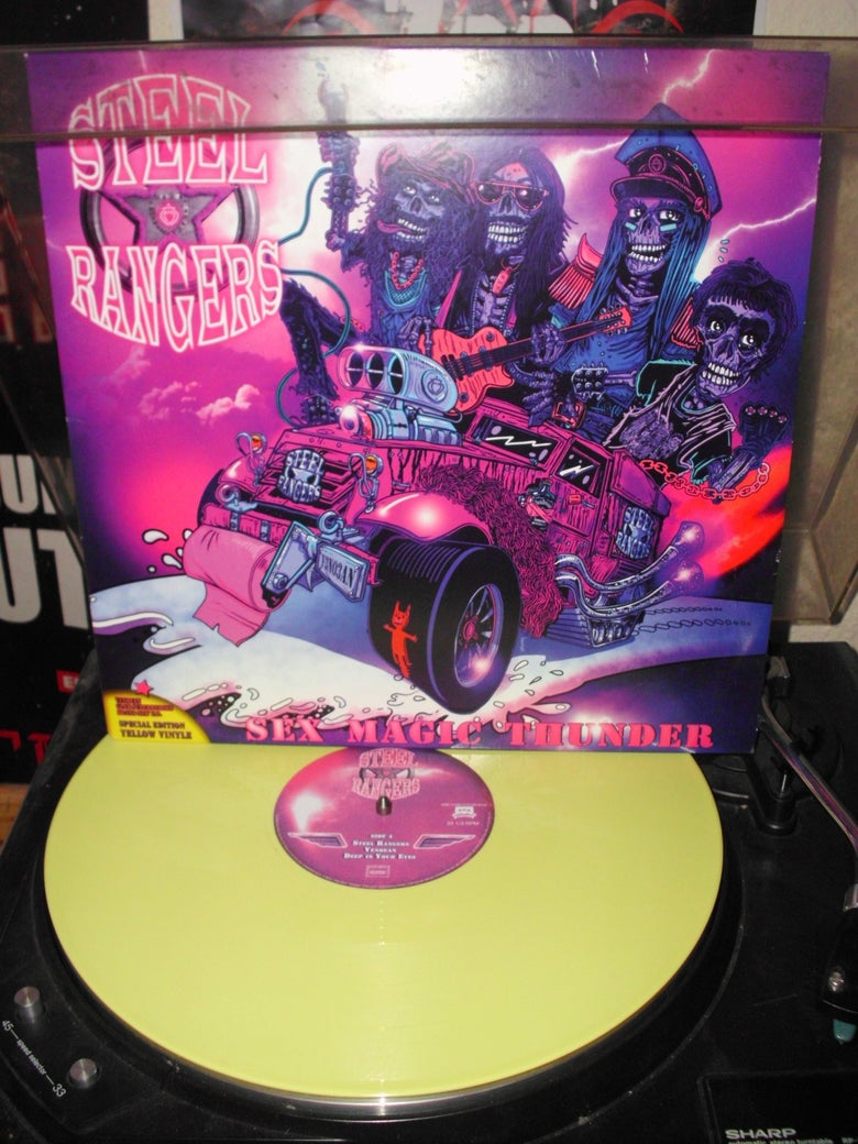 "Image of Vinyle 12""/33t ""Sex Magic Thunder"" (2013)....[limited edition] ONLY 39 COPIES IN STOCK !!!!"