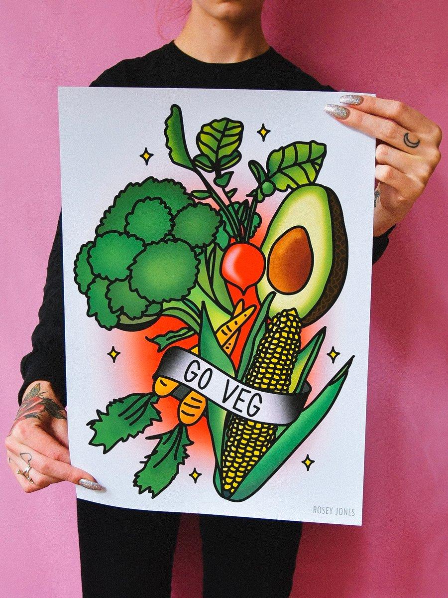 Image of Print Go Veg