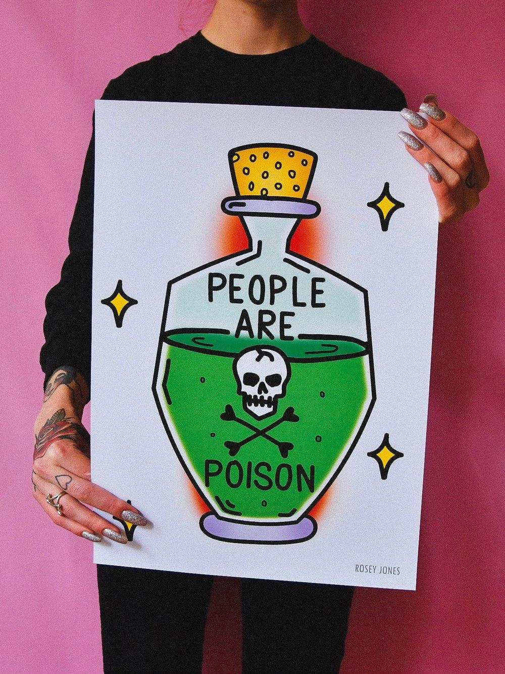 Image of Print Poison Bottle