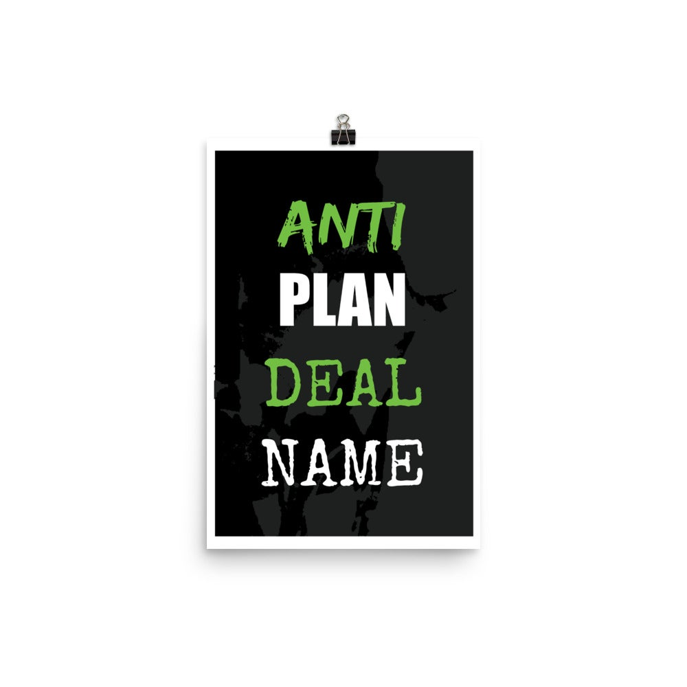 Image of anti // plan // deal // name