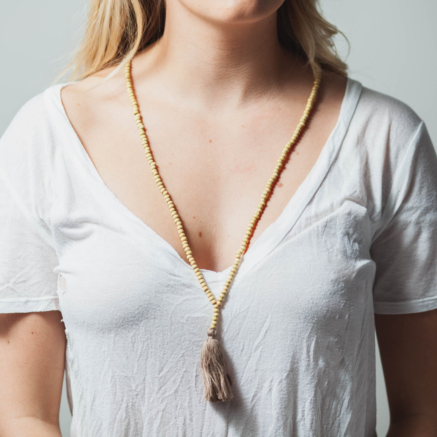 Image of NATURAL MALA NECKLACE