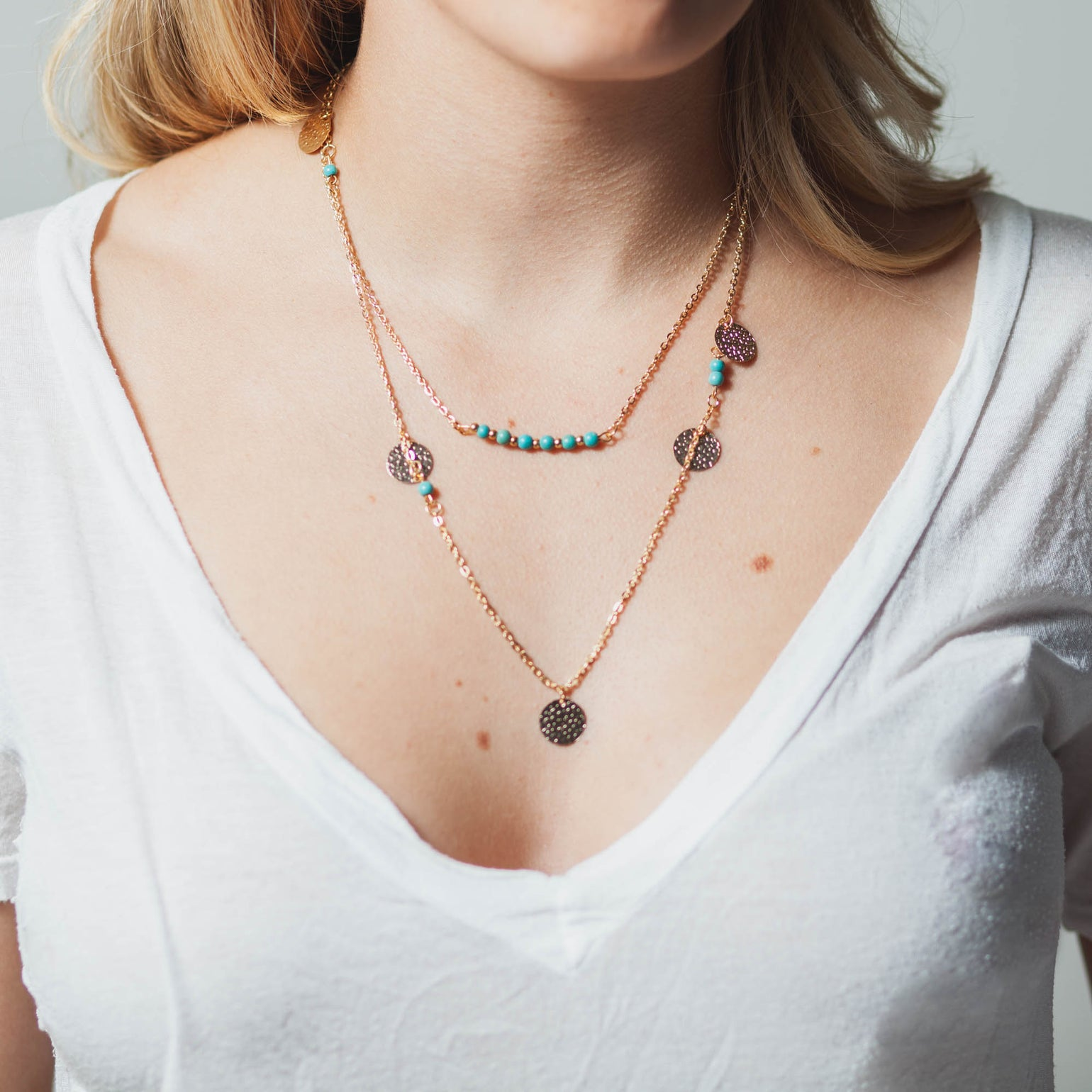 Image of LOVE YOUR TRIBE NECKLACE