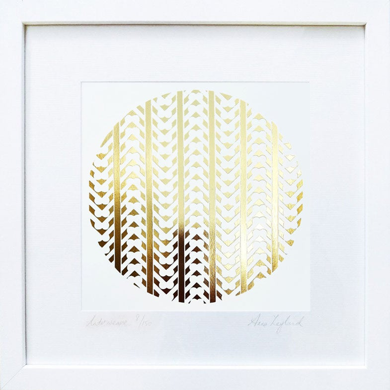 Image of 'Interweave' - Limited Edition GOLD OR COPPER Print