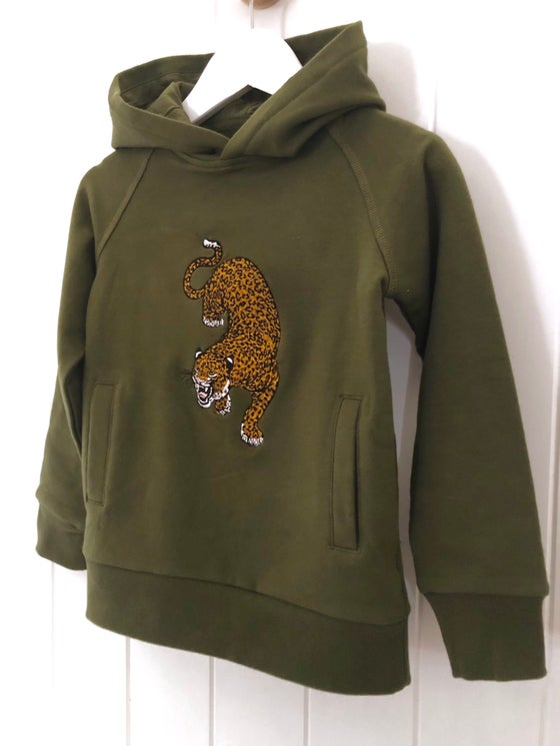 Image of Leopard Hoodie