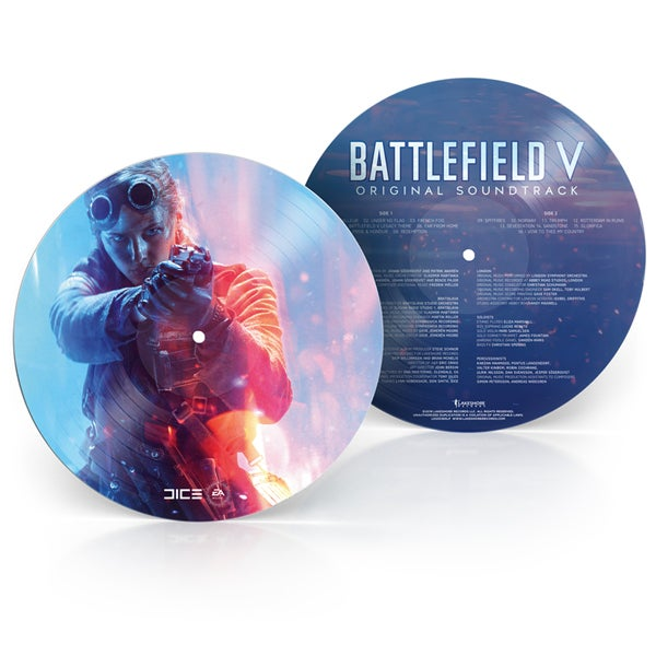 Image of Battlefield V (Original Soundtrack)  'Picture Disc' - Johan Söderqvist & Patrik
