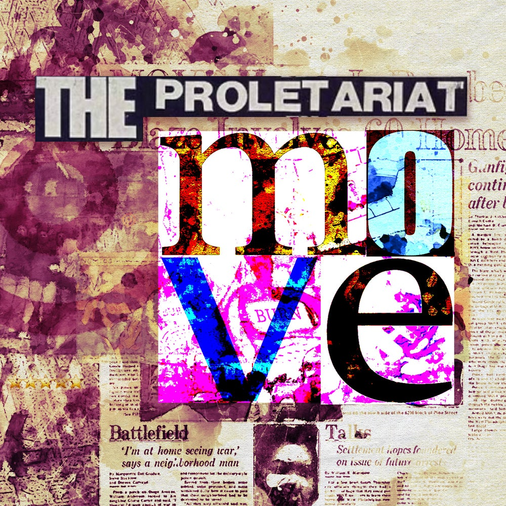 Image of THE PROLETARIAT - MOVE VINYL LP