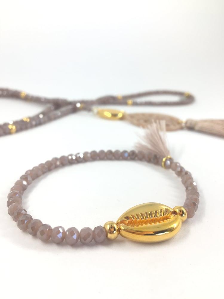 Image of Armband KAURI Muschel gold