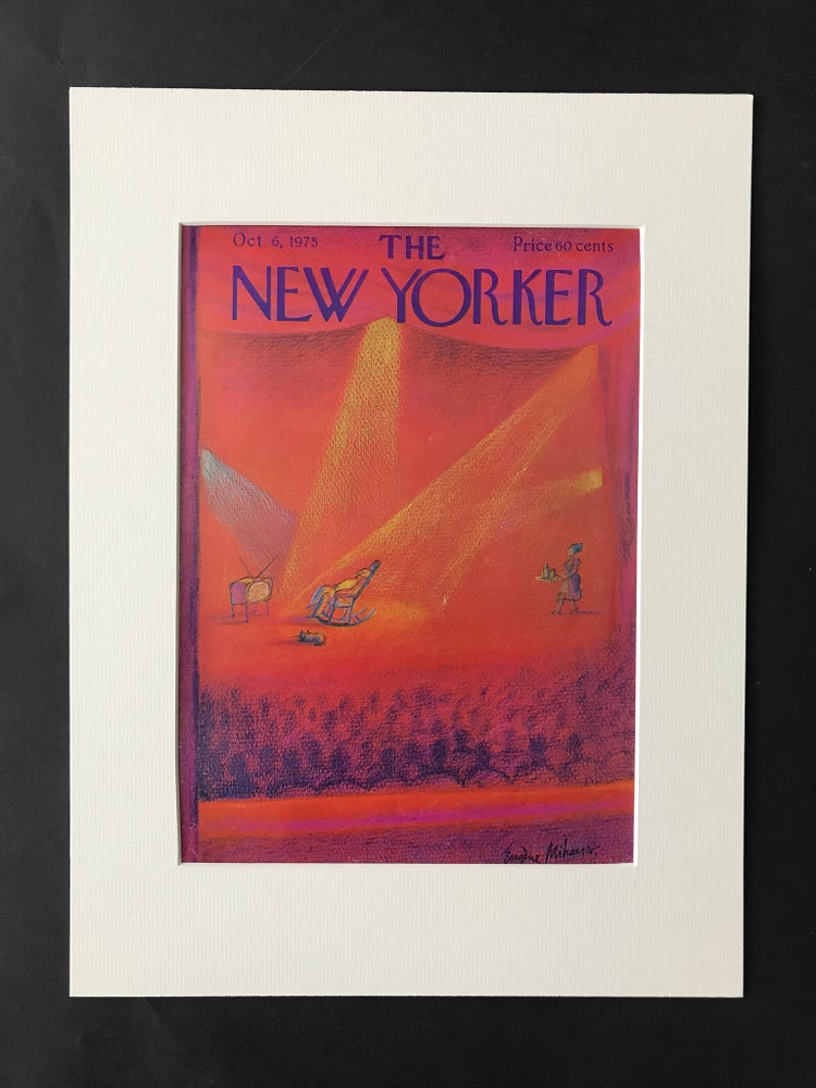 Image of Original The New Yorker Cover October 1975 illustrated by Eugene Mihaesco
