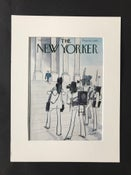 Image of Original The New Yorker Cover September 1975 illustrated by Charles Saxon