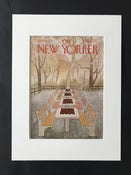Image of Original The New Yorker Cover September 1975 illustrated by Charles Martin