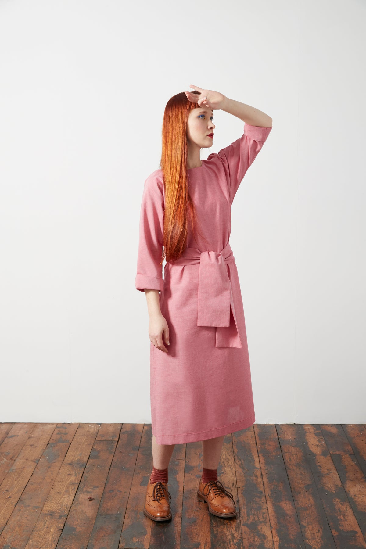 Image of Obi Sash Tie Dress